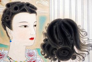薔薇の姫君と後ろ姿の姫君