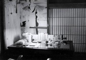 丸井金猊撮影 1960年頃の書斎