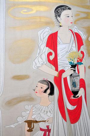 薫子と迪津子