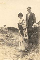 丸井金猊&さだゑ 新婚旅行 1938(昭和13)年
