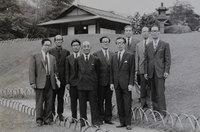 昭和八年卒の東京美術学校同期生が集う八年会(1974年・椿山荘)