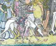 『薫風』塗り絵で山犬の尻尾を見抜けなかったのが悔やまれる