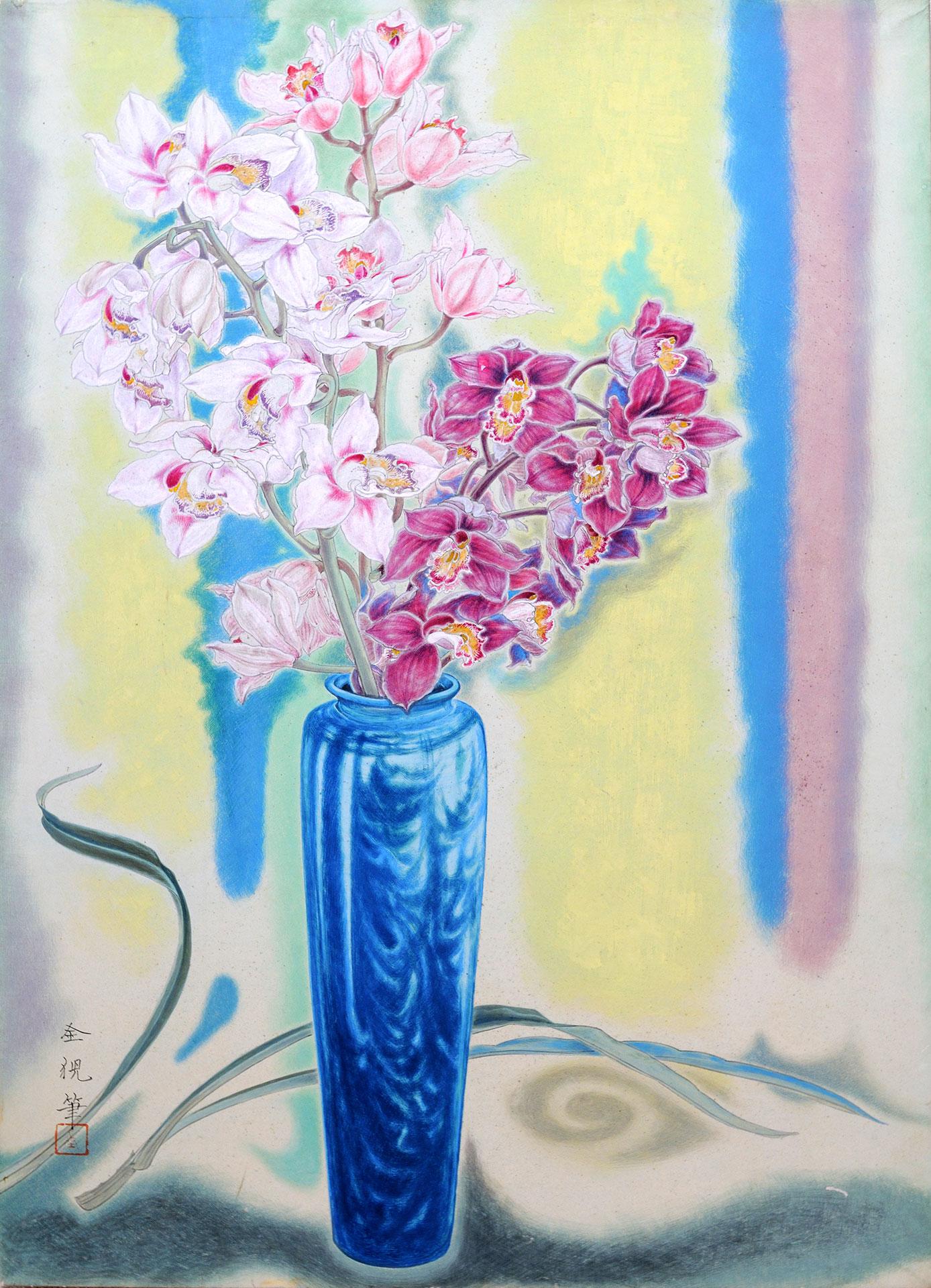 洋蘭図 - Orchid of a Western Kind