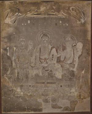 法隆寺金堂外陣旧壁画 第1号壁, 奈良文化研究所 奈良国立博物館
