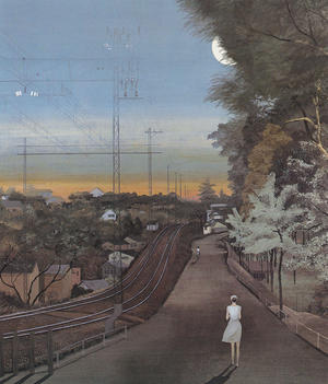 稗田一穂《帰り道》1981年