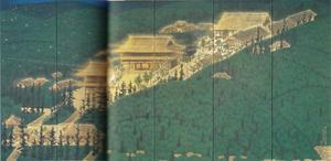 平山郁夫《画禅院青邨先生還浄図》1978年