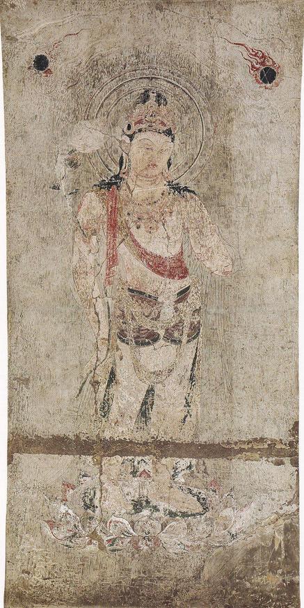 再現壁画 第3号壁 観音菩薩像(平山郁夫)