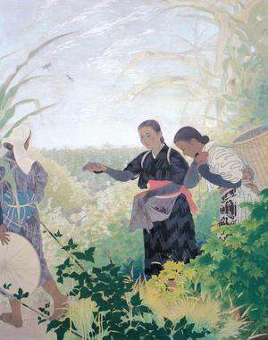 野島青茲《晩夏》1937年 静岡県立美術館蔵