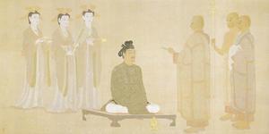 安田靫彦《夢殿》1912年