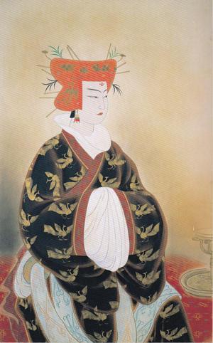 安田靫彦《王昭君》1947年