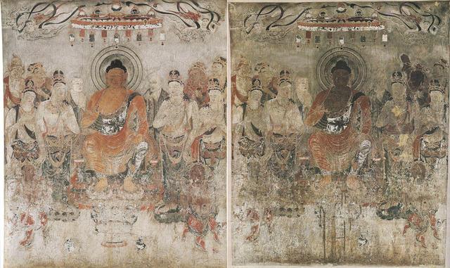 法隆寺金堂壁画 第10号壁 薬師浄土図