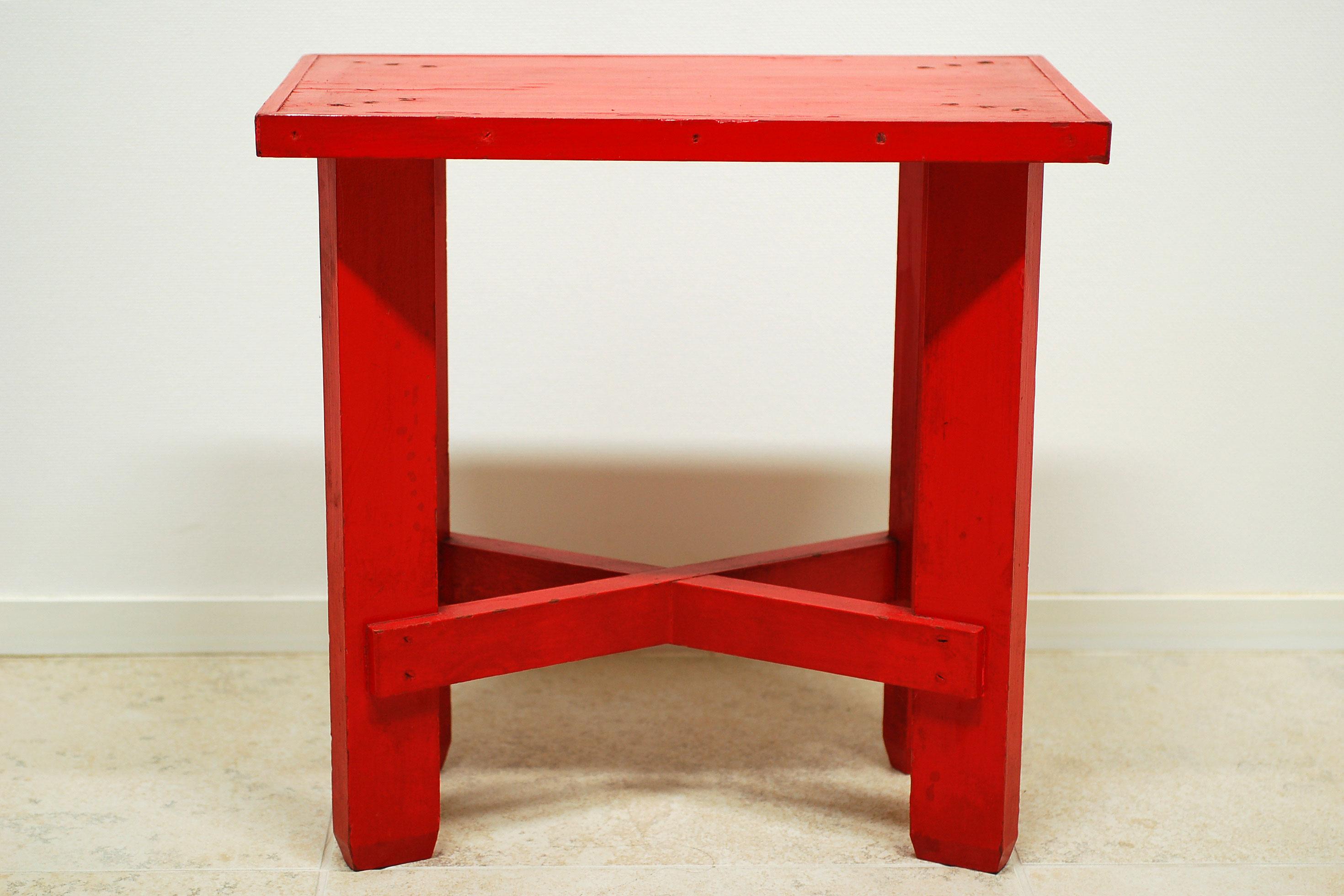 朱机* - Vermilion-Lacquered Table