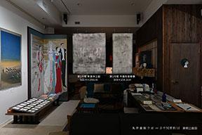 丸井金猊「写と想像⇄創造展」展 東側壁面
