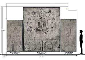 丸井金猊「写と想像⇄創造展」展 西側壁面