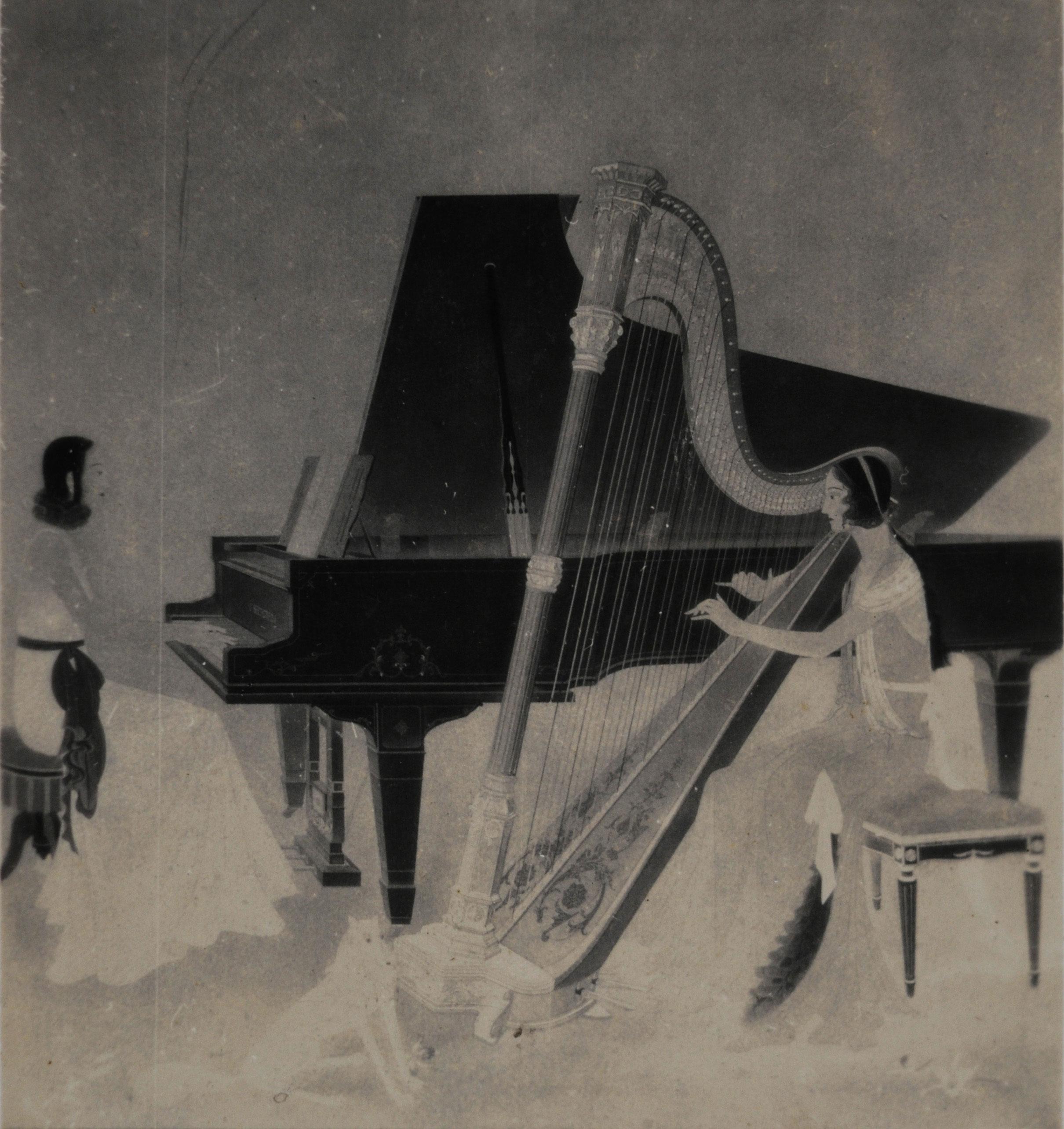 ハープとピアノ - Harp and Piano